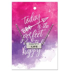 Ringmasters Necklace - Happy Life
