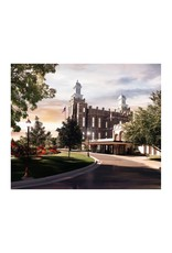 Brent Borup Mouse Pad - Logan Temple, Summer