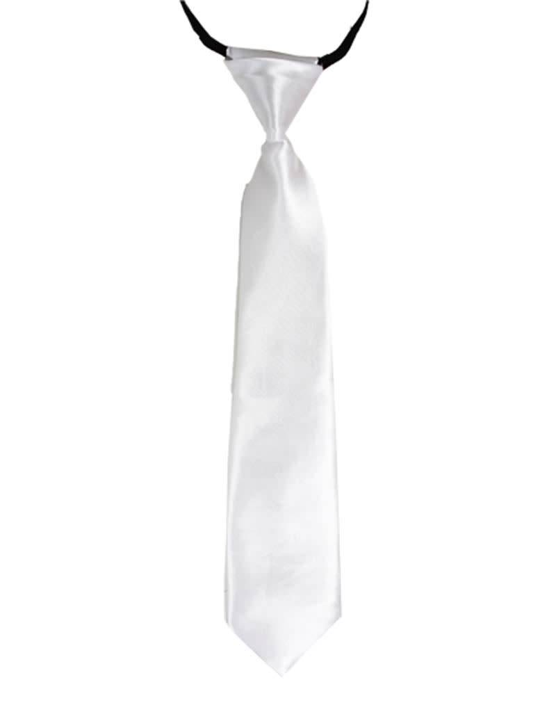 Necktie - Kids, White