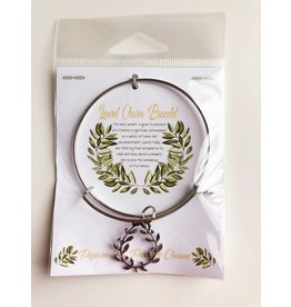 Popcorn Tree Laurel Charm Bracelet