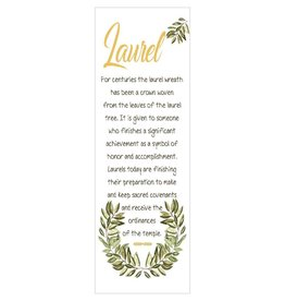 Popcorn Tree Laurel Bookmarks (Illustration), 6ct