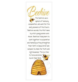 Popcorn Tree Beehive Bookmarks (Illustration), 6ct