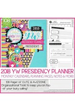 My Computer is My Canvas 2018 LDS Young Women Presidency Planner