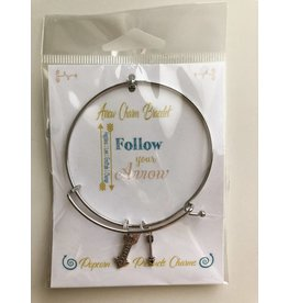 Popcorn Tree Charm Bracelet - Follow your Arrow