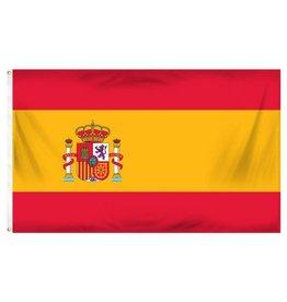 Popcorn Tree Flag - Spain 3'x5'