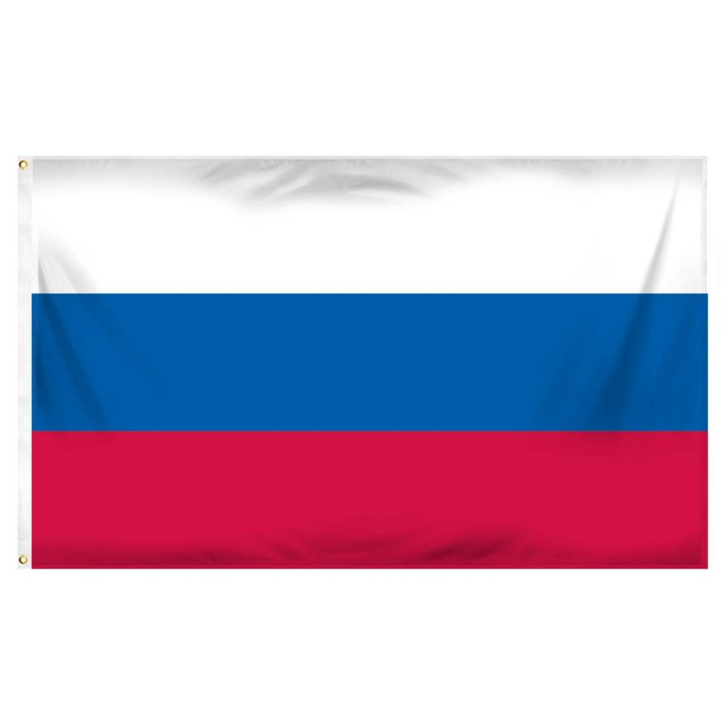 Online Stores Flag - Russia 3'x5'