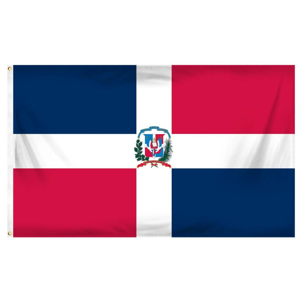 Online Stores Flag - Dominican Republic 3'x5'