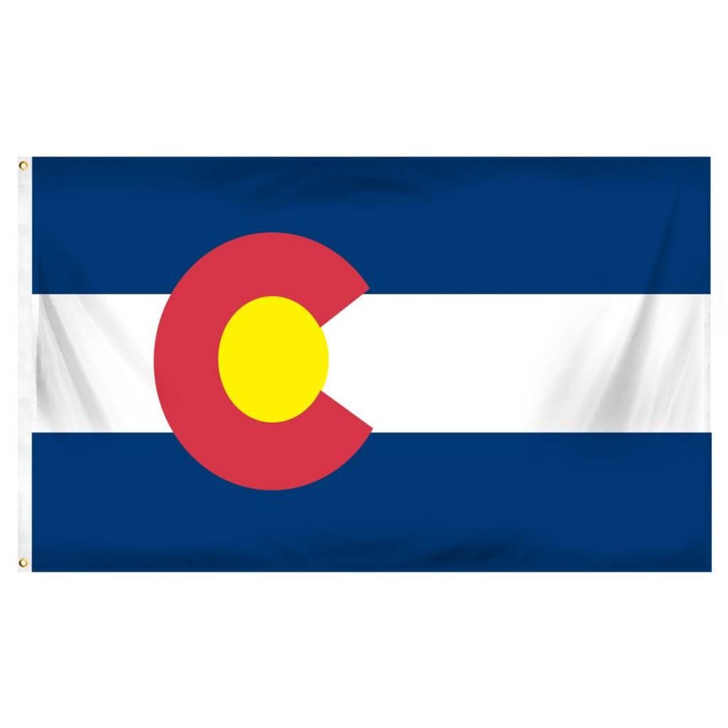 Online Stores Flag - Colorado 3'x5'