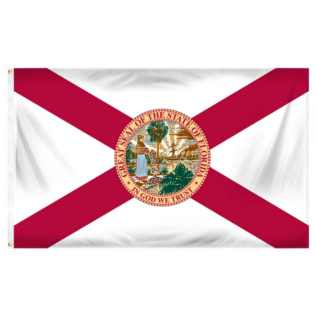 Online Stores Flag - Florida 3'x5'