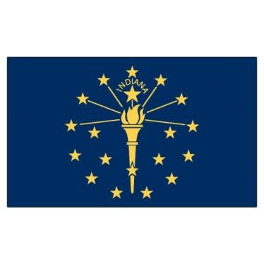 Online Stores Flag - Indiana 3'x5'