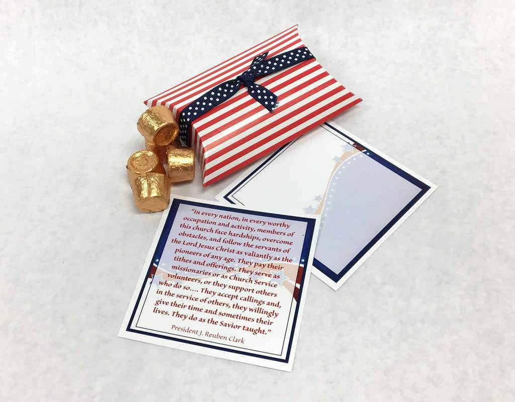 Popcorn Tree July 2018 LDS Ministering Gift