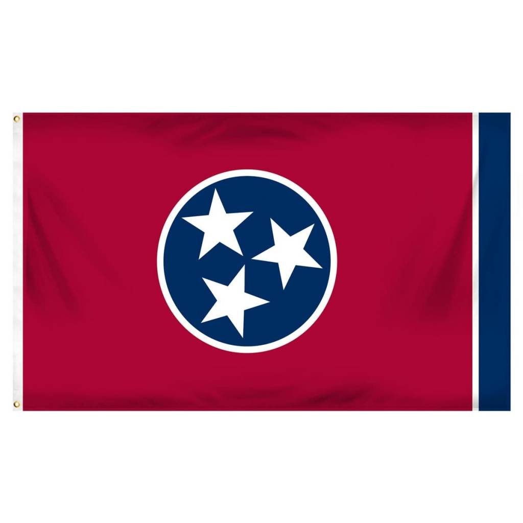 Popcorn Tree Flag - Tennessee 3'x5'