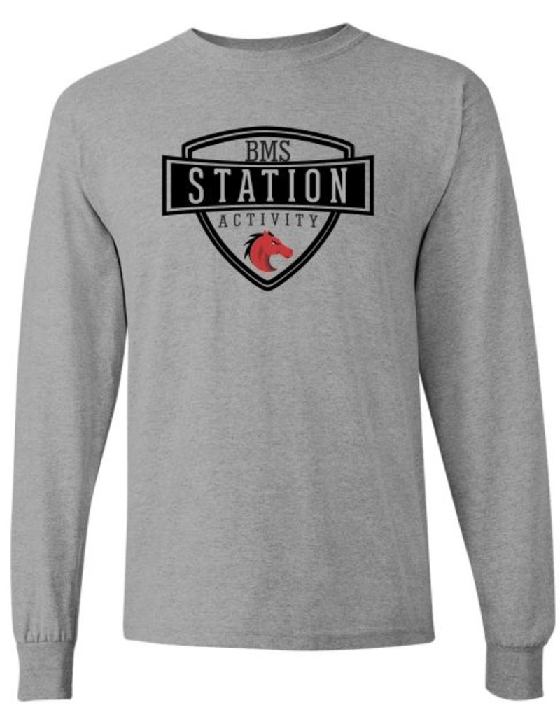 #4B Classic Long Sleeve T-Shirt - Station SpiritX