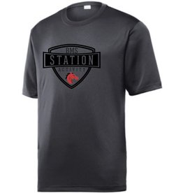 #40B Tough Short Sleeve Performance Shirt - Station SpiritX