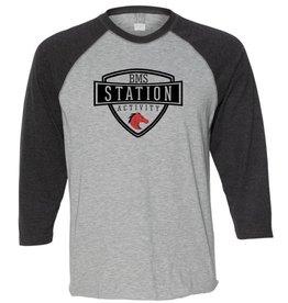 #18B Vintage 3/4 Sleeve Raglan T-Shirt - Station SpiritX
