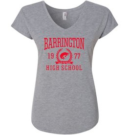 #328 Ladies Triblend V-Neck Tee - BHS Reunions
