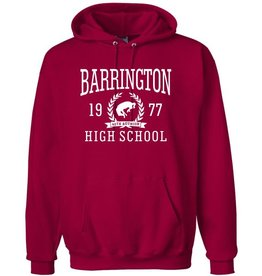 #103B Heavyweight Cotton Hooded Sweatshirt - BHS Reunions