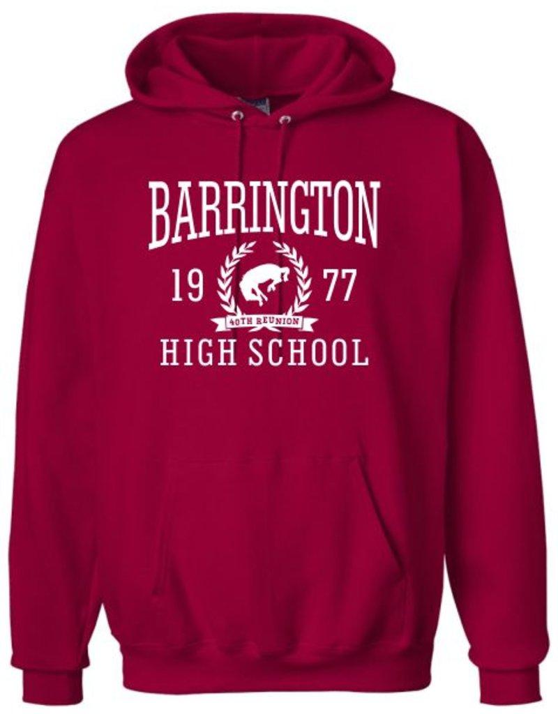 #103B Heavyweight Cotton Hooded Sweatshirt - BHS Reunions