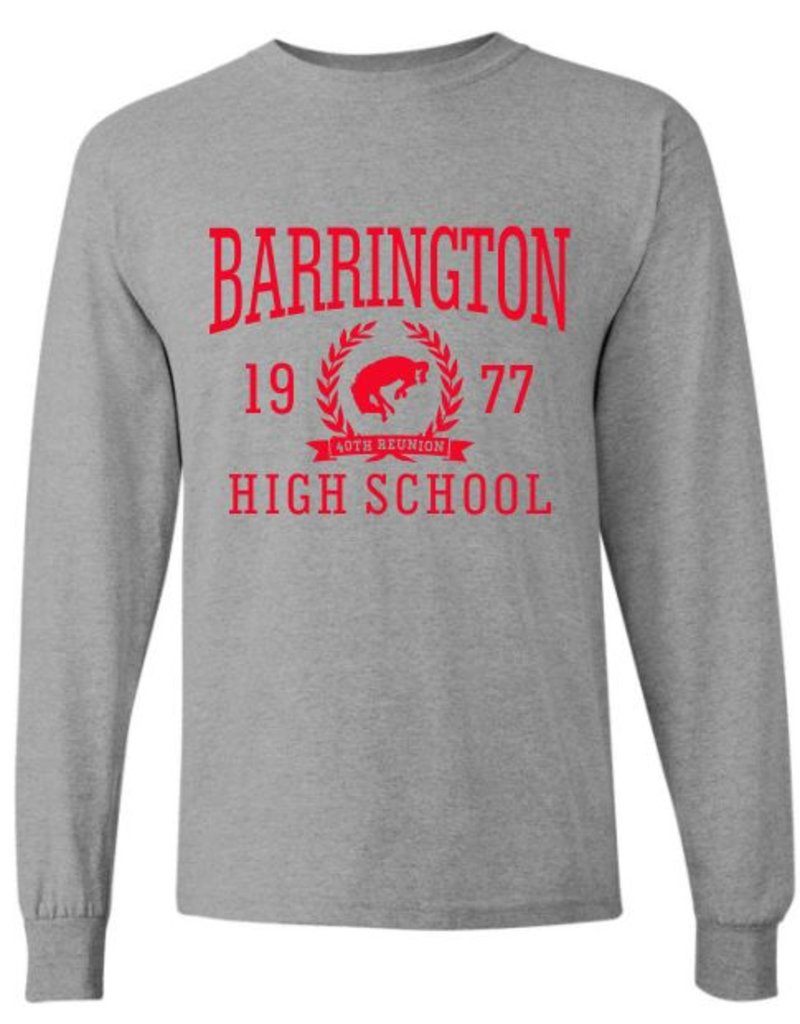 #4 Classic Long Sleeve T-Shirt - BHS Reunions