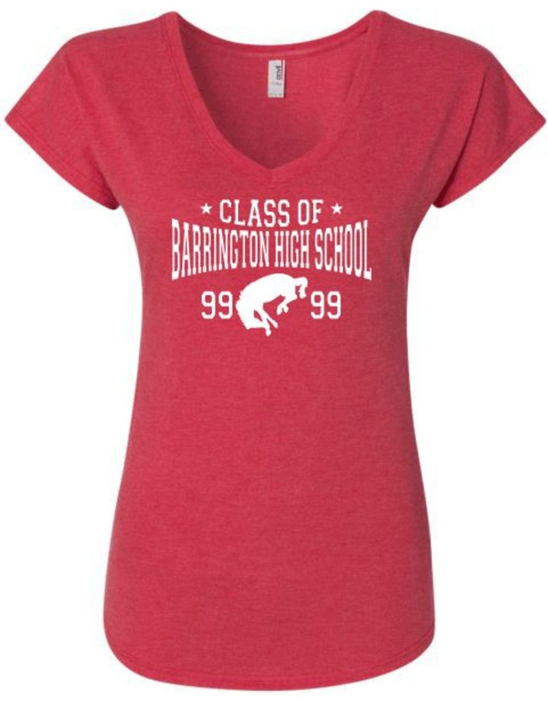 #328B Ladies Triblend V-Neck Tee - BHS Class of... Collection