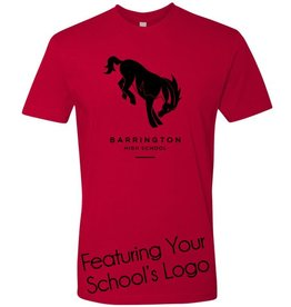 #6 Premium Short Sleeve Crew Neck Tee - Barrington 220 Schools