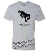 #6 Premium Short Sleeve Crew Neck Tee - Barrington 220 Schools