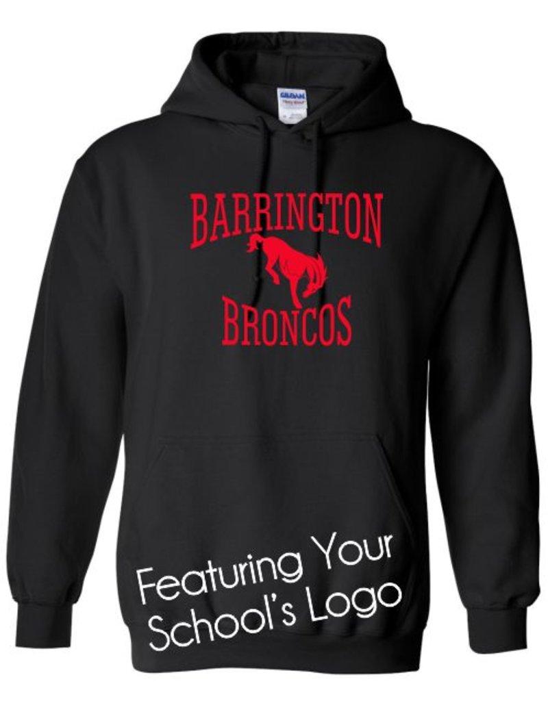 #101 Hooded Sweatshirt - Barrington 220 Schools