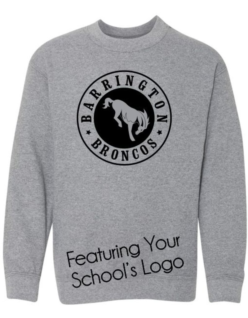 #104 Classic Crewneck Sweatshirt - Barrington 220 Schools
