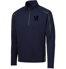 #191 Colorblock Half-Zip Performance Pullover - OLPH Alumni
