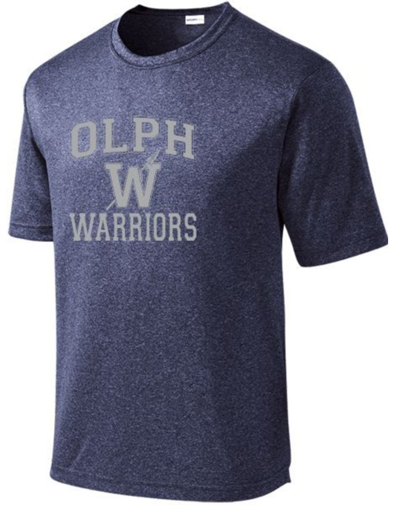 #52 Heathered Performance Shirt OLPH Alumni