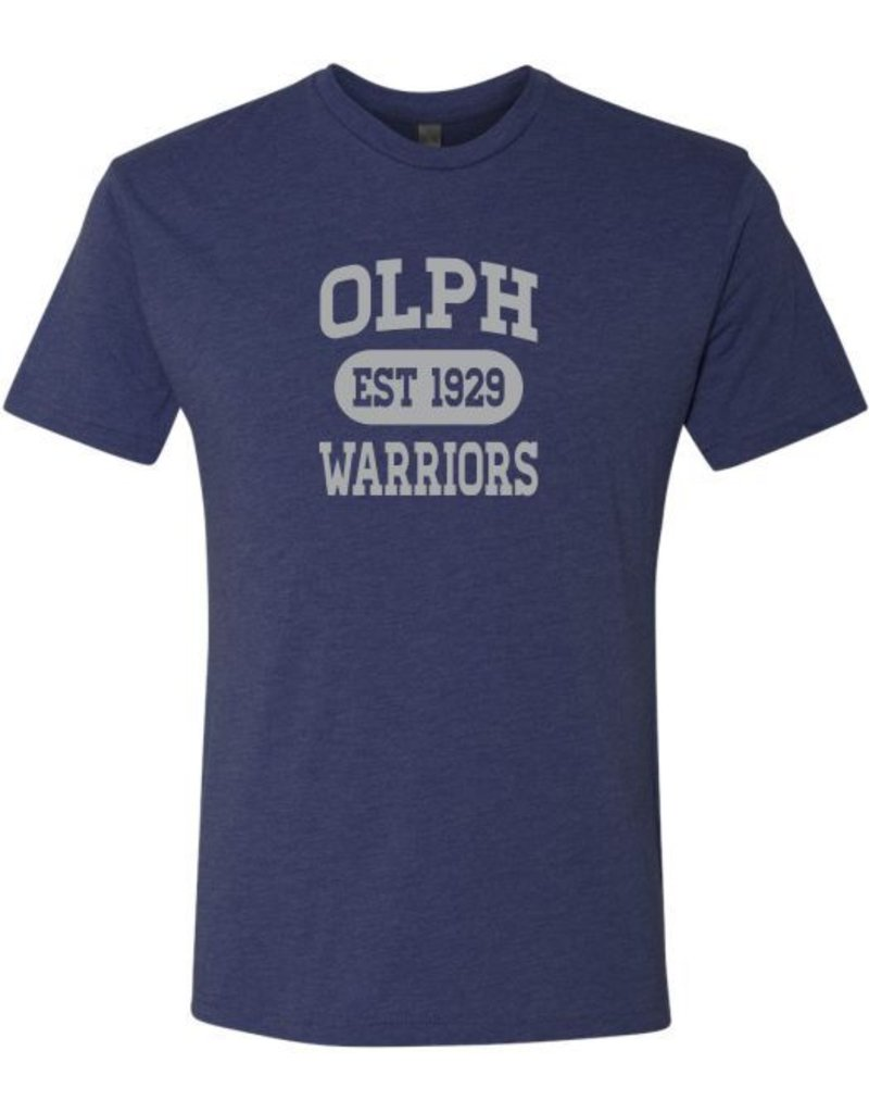 #5 Short Sleeve Triblend T-Shirt - OLPH Alumni
