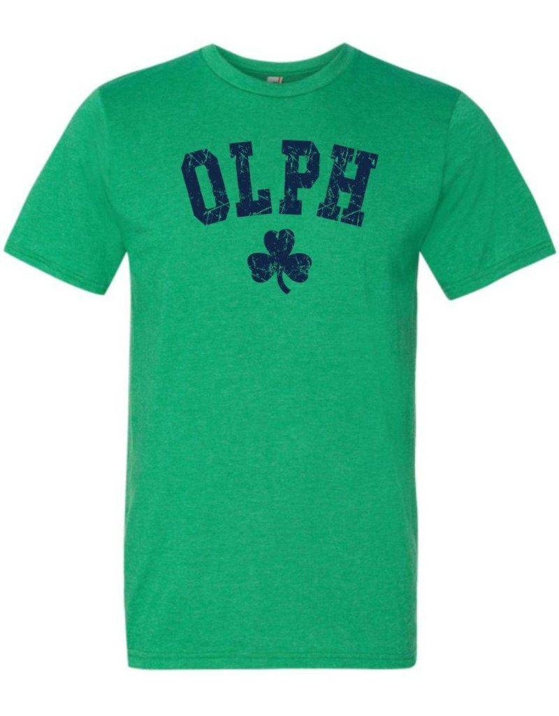 #10 Lightweight Heathered T-Shirt - OLPH - St. Patrick's Day