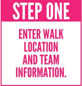 The Promise Walk - Step One