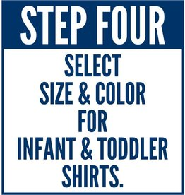 #602 Infant-Toddler Classic Short Sleeve Tee Shirt - The Promise Walk - Step Four