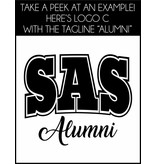 #6 Premium Short Sleeve Crew Neck Tee - SAS