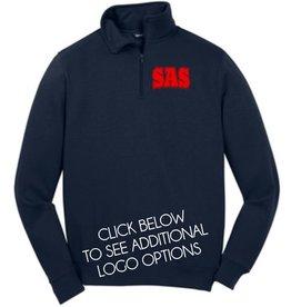 #158 Quarter Zip Pullover Sweatshirt - SAS