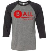 Bella + Canvas #27 Three-Quarter Sleeve Baseball T-Shirt - BALL4Training