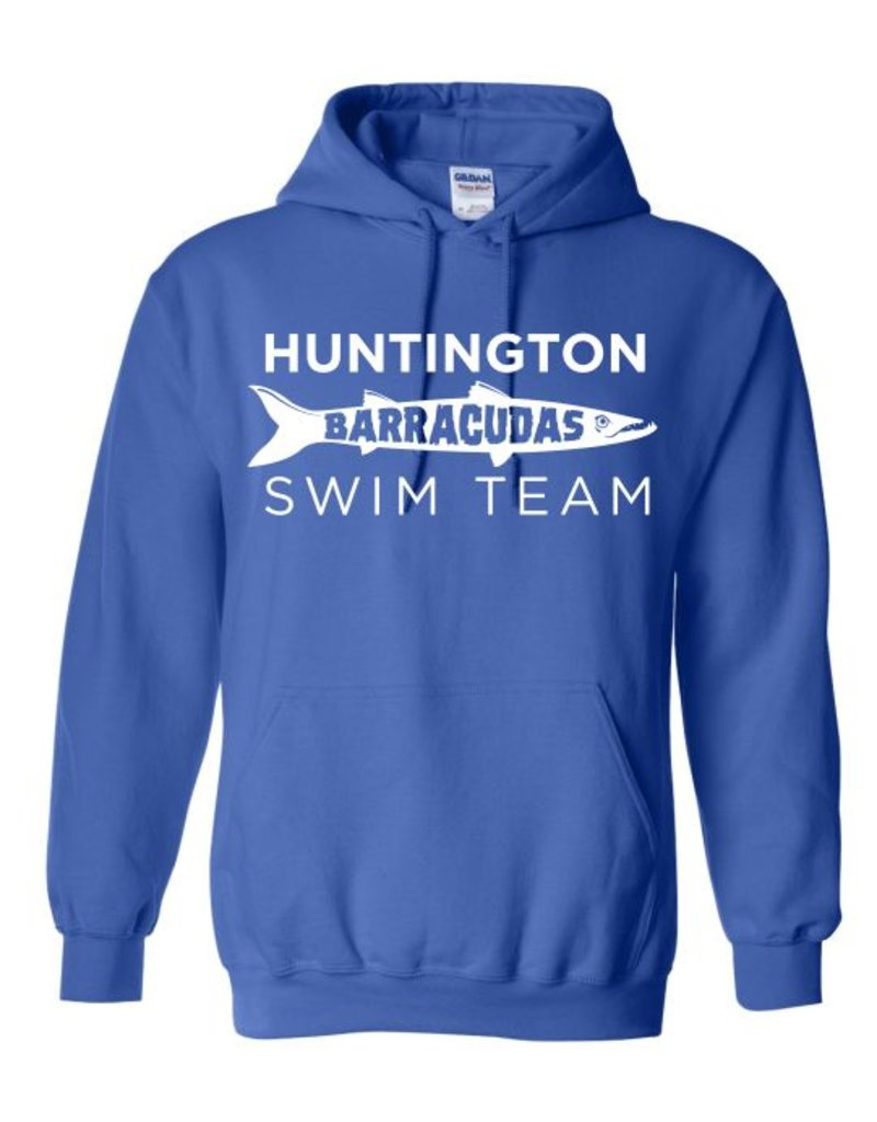 #101 Classic Hooded Sweatshirt - Huntington Swim Team