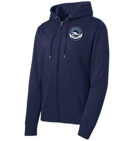 #238 Sport-Wick Fleece Full Zip Hooded Jacket - Barrington Boat Club