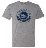 #5 Short Sleeve Triblend T-Shirt - Barrington Boat Club