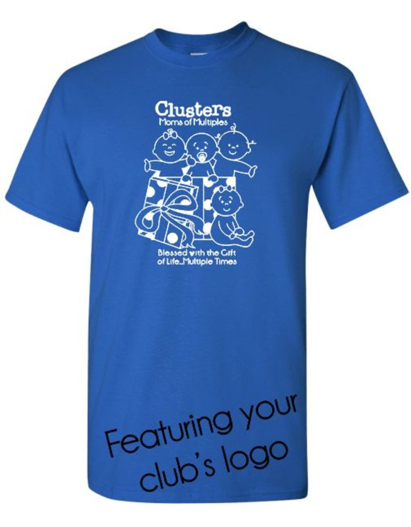 #2 Adult Classic Short Sleeve T-Shirt - Mothers of Multiples - Pick Your Logo