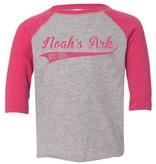 #618 Toddler Vintage 3/4 Sleeve Jersey - Noah's Ark Preschool