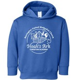 #606 Toddler Hooded Sweatshirt - Noah's Ark Preschool