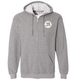 #100 Full Zip Hooded Sweatshirt - Noah's Ark Preschool