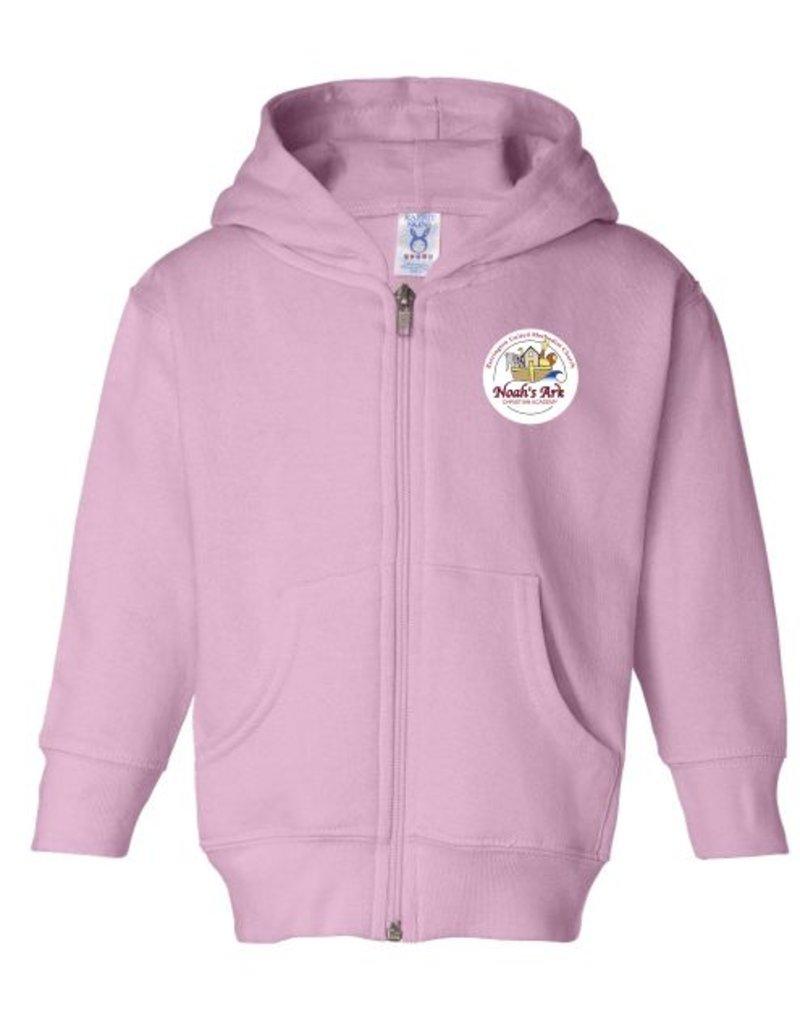 #601 Toddler Full Zip Hoodie - Noah's Ark Preschool
