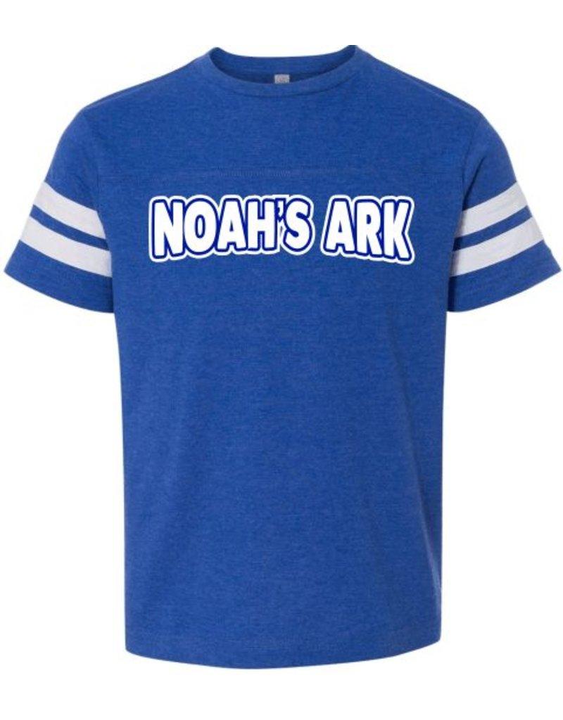#632 Toddler Vintage Football Tee - Noah's Ark Preschool