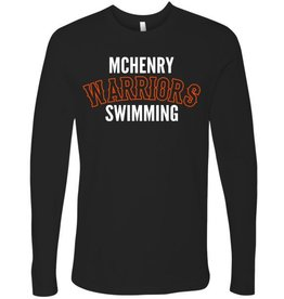 #3360 Adult Premium Long Sleeve Shirt - McHenry Swimming