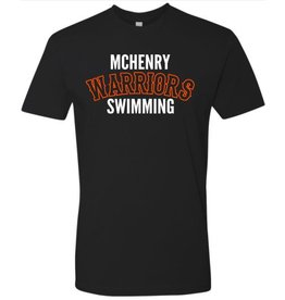 #6 Adult Premium Short Sleeve Shirt - McHenry Swimming