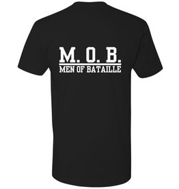 #6 Crew Neck T-Shirt - Men of Bataille