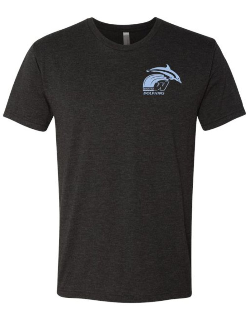 #5 Short Sleeve Triblend T-Shirt - Woodstock Swim